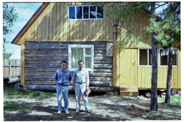 永久凍土研究所 永久凍土研究所 共同研究をおこなっている,ヤクーツク永久凍土研究所です。マンモス